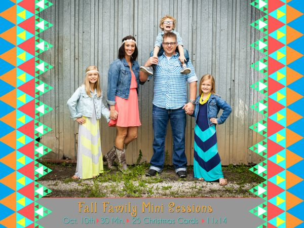 Fall Family Portrait Special