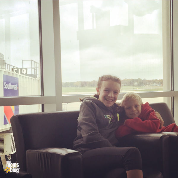 Travelling with Older Kids - Airport