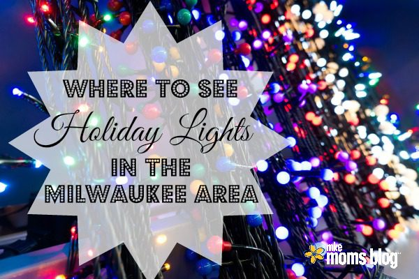 where to see holiday lights in milwaukee