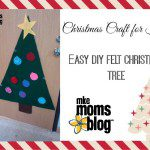 Christmas Craft for Kids :: Easy DIY Felt Christmas Tree