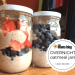 3 Easy Overnight Oatmeal Jar Recipes