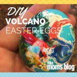 DIY Volcano Easter Eggs