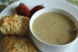 Roasted Cauliflower Soup for Families