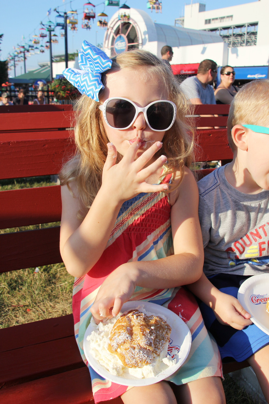 Original Cream Puffs are a Delicious State Fair Staple