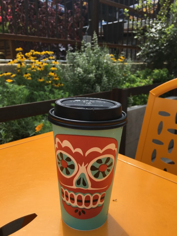 Coffee with a side of sunshine at Colectivo
