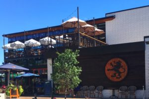Outdoor dining at Cafe Hollander, Mequon