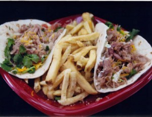 Tavern-at-the-Park-Blue-Moon-Marinated-Pork-Tacos-with-Garlic-French-Fries-300x232