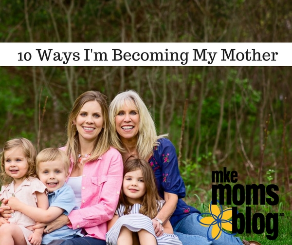 Becoming My Mother