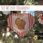 DIY WI Love Ornament