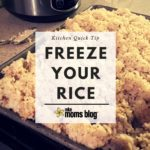 Kitchen Quick Tip :: How to Freeze Rice