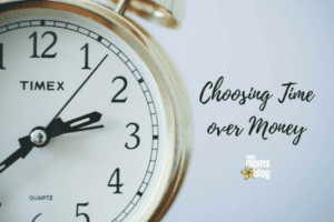Choosing Time over Money