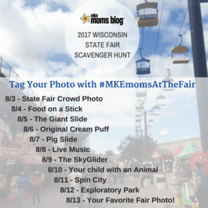 Wisconsin State Fair Scavenger Hunt