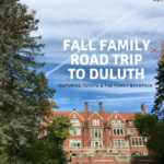 A Fall Family Road Trip to Duluth {Featuring Toyota and The Family Backpack}