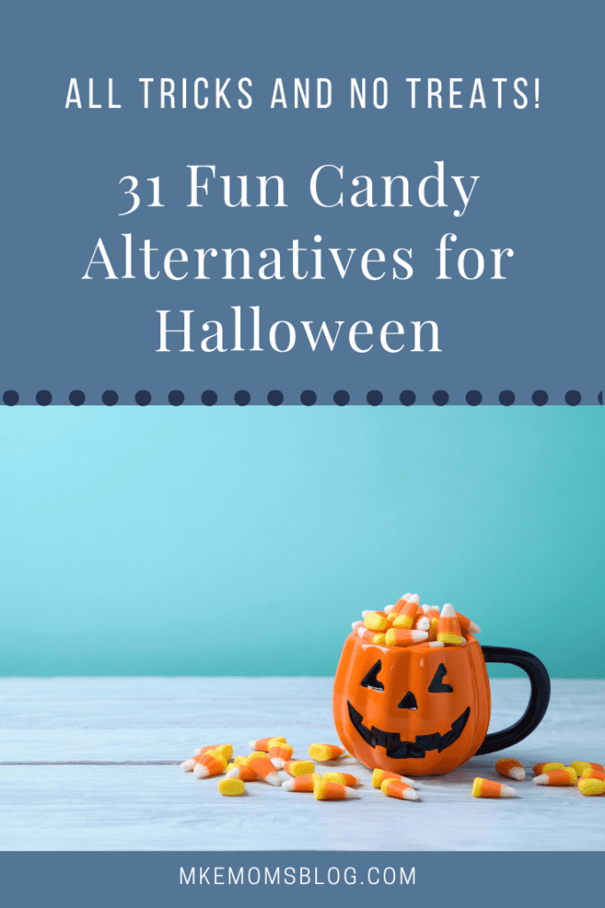 Candy Alternatives for Trick or Treat