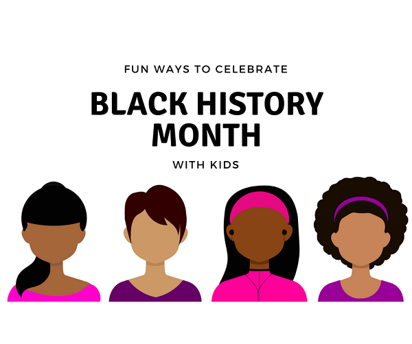 black history month with kids