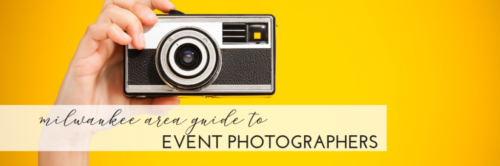 Event photographers in Milwaukee