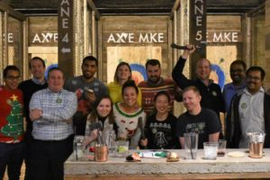 birthday ideas in milwaukee for adults AXE MKE