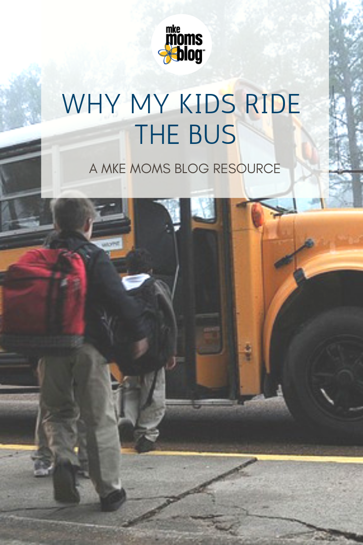 why my kids ride the bus