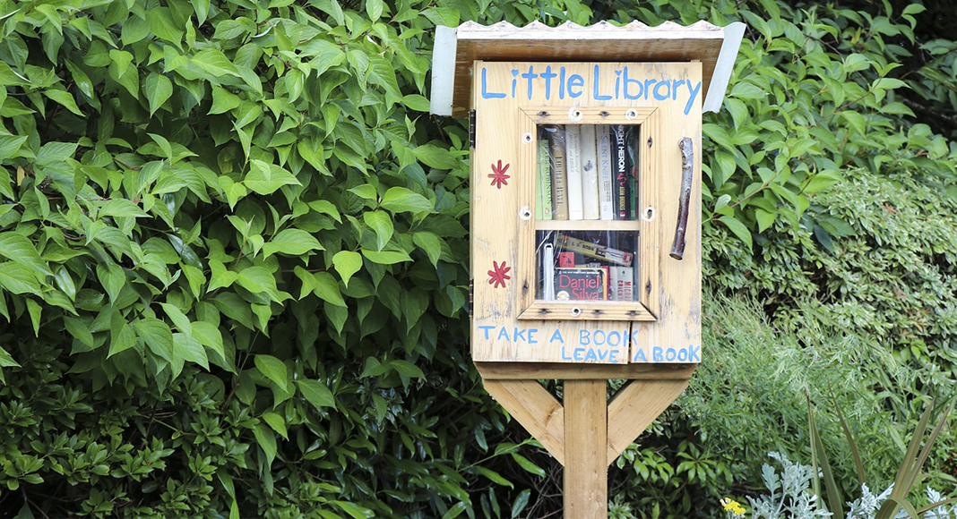 free little library in Milwaukee