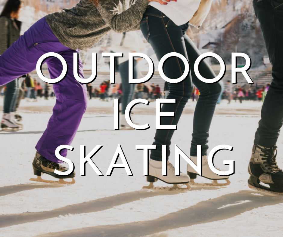 outdoor ice skating