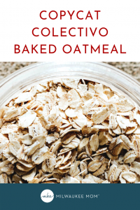 Collectivo baked oatmeal pinterest