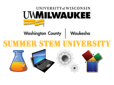 UW Milwaukee Washington Co Summer camp ad