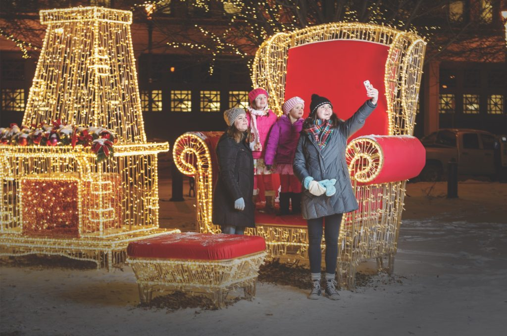holidays in downtown milwaukee