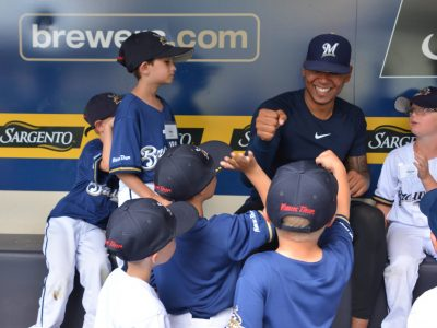 summer camp with the brewers