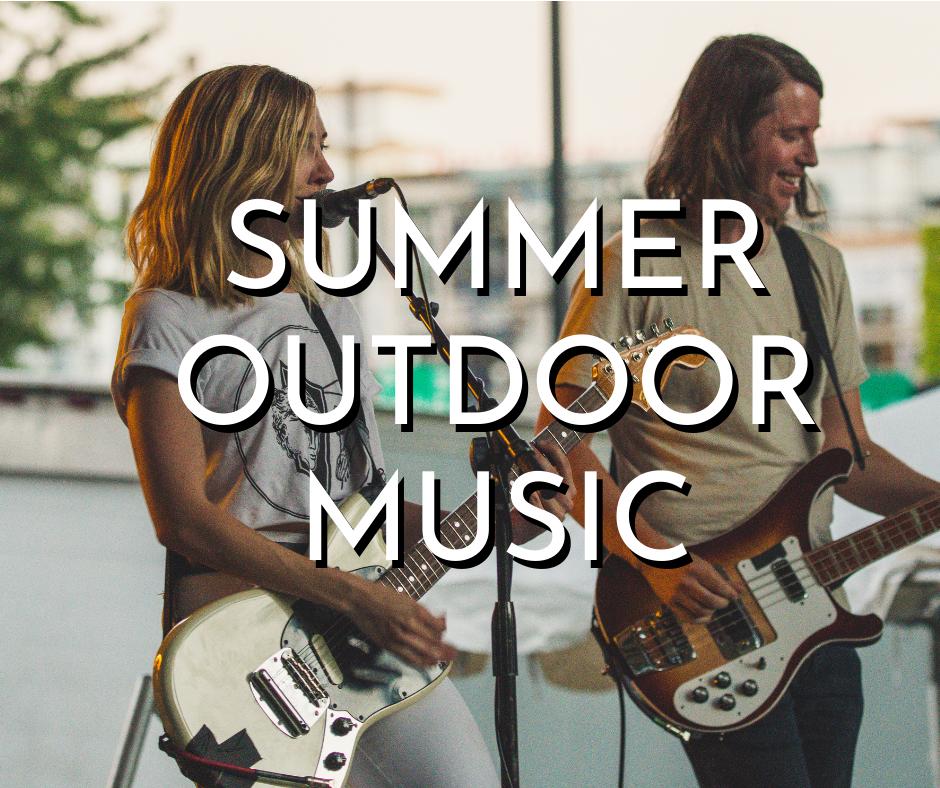 summer outdoor music in Milwaukee