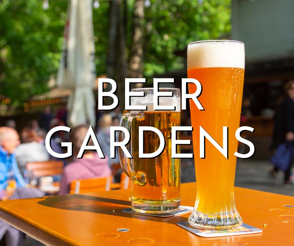 Milwaukee beer gardens