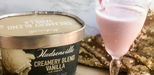 Hudsonville Celebratory Ice Cream Drink