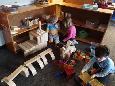 Block play - Curiosity Corner