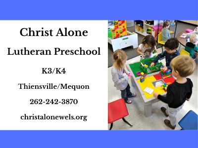 Christ Alone Lutheran School 2021