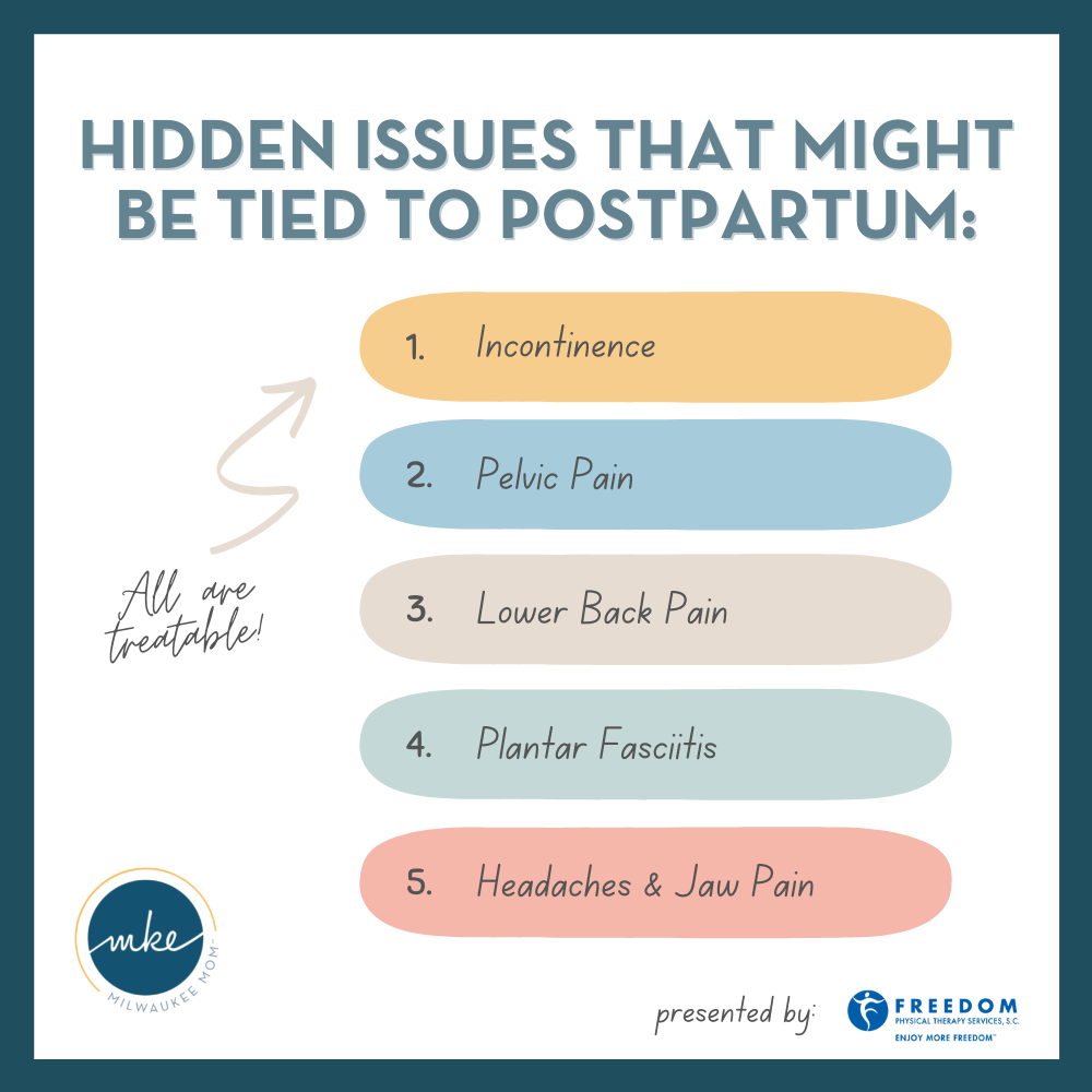 hidden issues that might be tied to postpartum